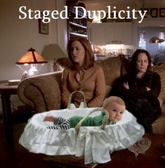 Staged Duplicity